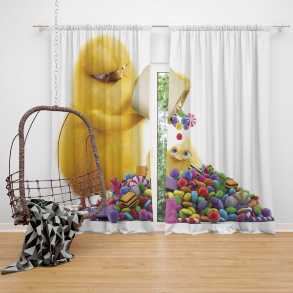 Hop Movie Window Curtain