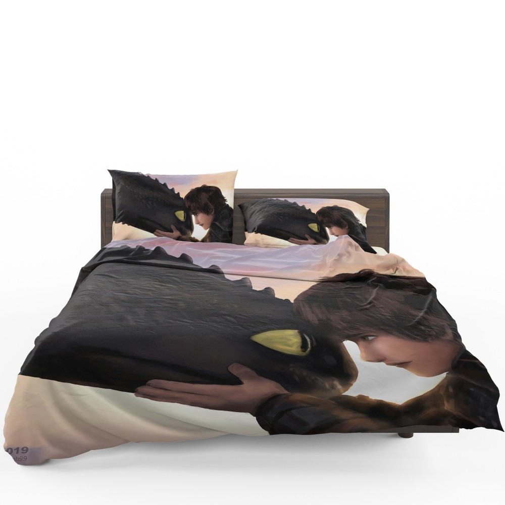 How To Train Your Dragon Movie Hiccup Toothless Bedding Set