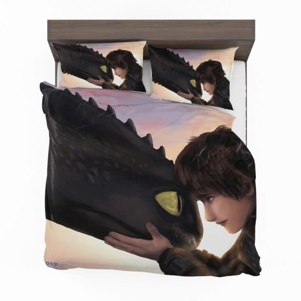 How To Train Your Dragon Movie Hiccup Toothless Bedding Set 2