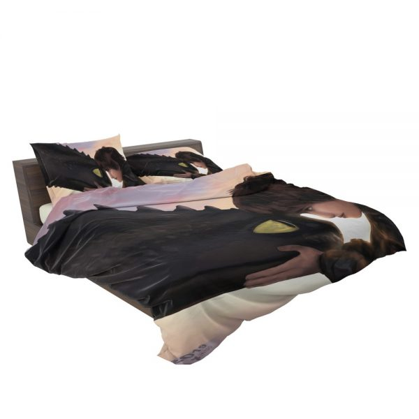How To Train Your Dragon Movie Hiccup Toothless Bedding Set 3