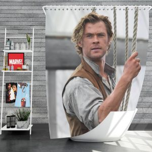 In the Heart of the Sea Movie Chris Hemsworth Shower Curtain