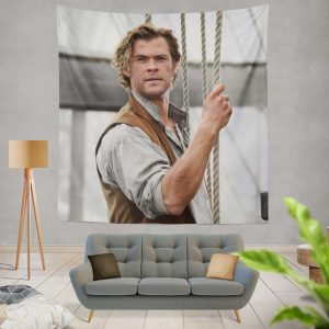 In the Heart of the Sea Movie Chris Hemsworth Wall Hanging Tapestry