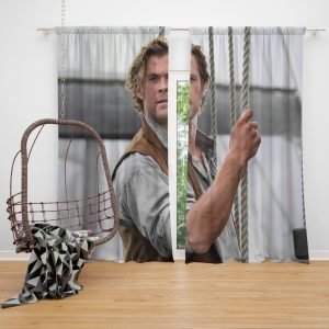 In the Heart of the Sea Movie Chris Hemsworth Window Curtain