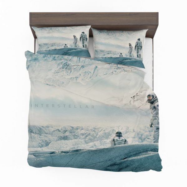 Interstellar Movie Cooper in Mann Planet Bedding Set 2