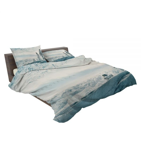 Interstellar Movie Cooper in Mann Planet Bedding Set 3