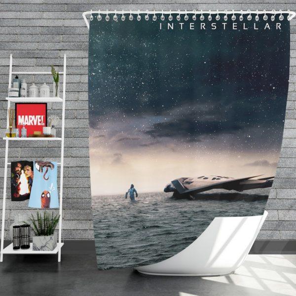 Interstellar Movie Sci-Fi Shower Curtain