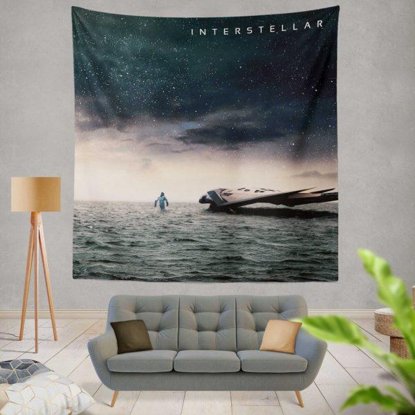 Interstellar Movie Sci-Fi Wall Hanging Tapestry