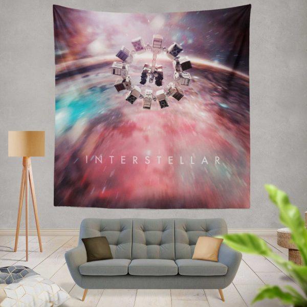 Interstellar Movie Space Wall Hanging Tapestry