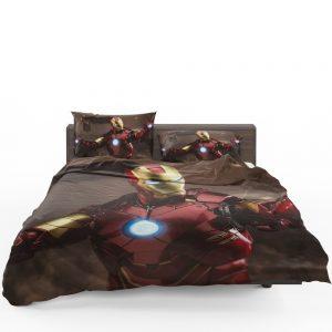 Iron Man 2 Movie Figurine Bedding Set 1