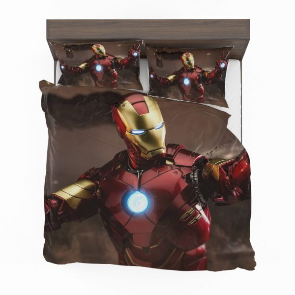 Iron Man 2 Movie Figurine Bedding Set 2