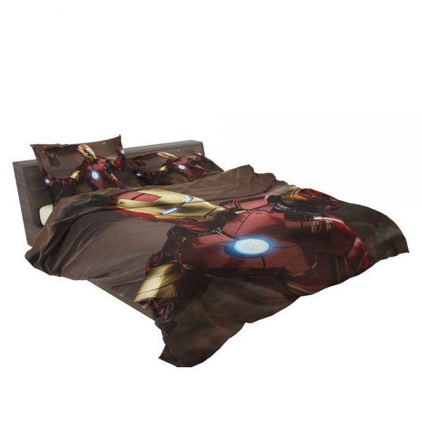 Iron Man 2 Movie Figurine Bedding Set 3