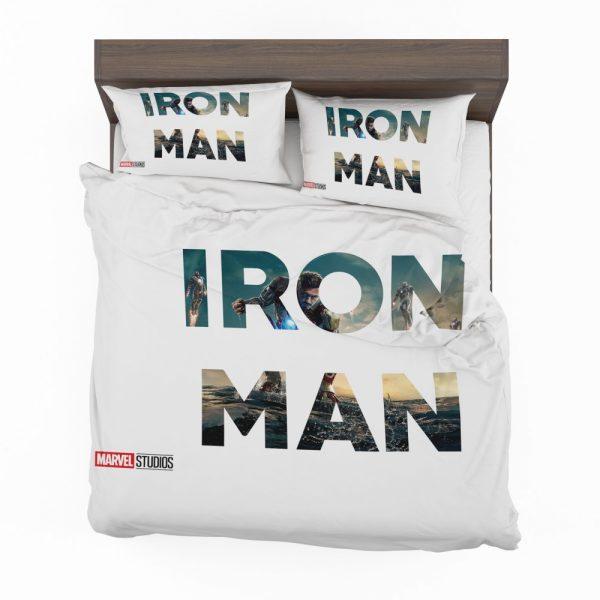 Iron Man Movie Bedding Set 2