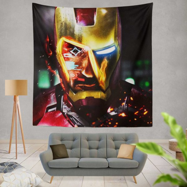 Iron Man Movie Marvel End game Wall Hanging Tapestry
