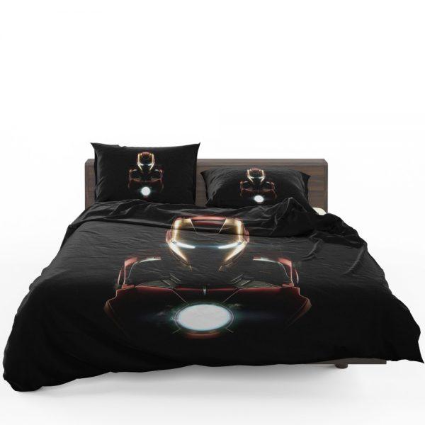 Iron Man Movie Marvel MCU Super Hero SHIELD Bedding Set 1