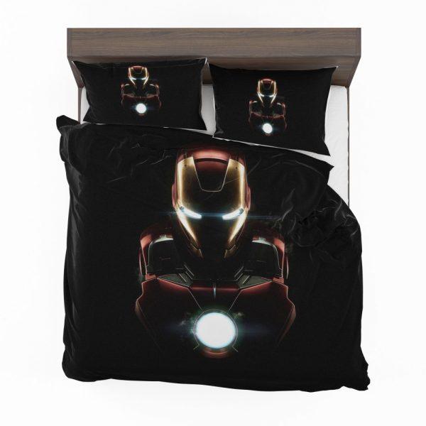 Iron Man Movie Marvel MCU Super Hero SHIELD Bedding Set 2