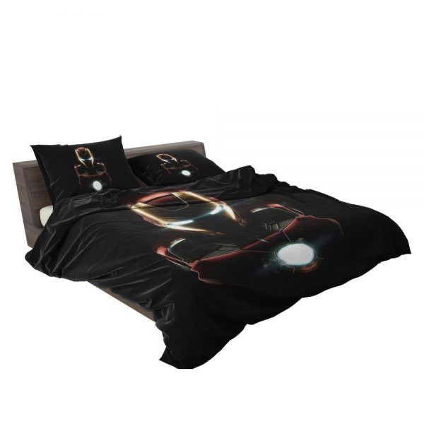Iron Man Movie Marvel MCU Super Hero SHIELD Bedding Set 3