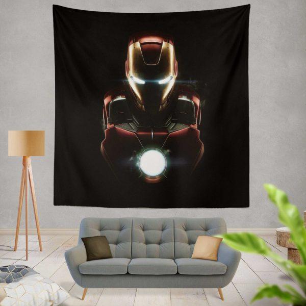 Iron Man Movie Marvel MCU Super Hero SHIELD Wall Hanging Tapestry