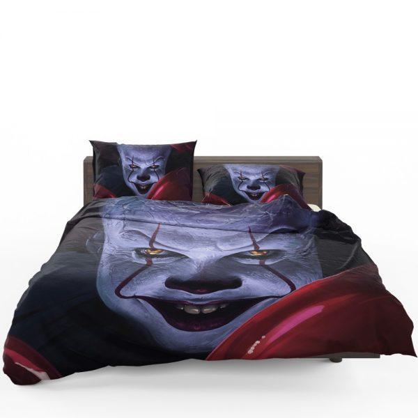 It 2017 Movie Creepy Pennywise Bedding Set 1