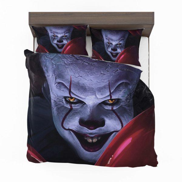 It 2017 Movie Creepy Pennywise Bedding Set 2