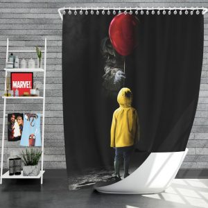 It 2017 Movie Drama Mystery Shower Curtain