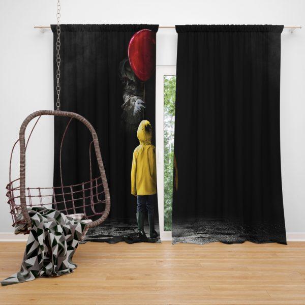 It 2017 Movie Drama Mystery Window Curtain