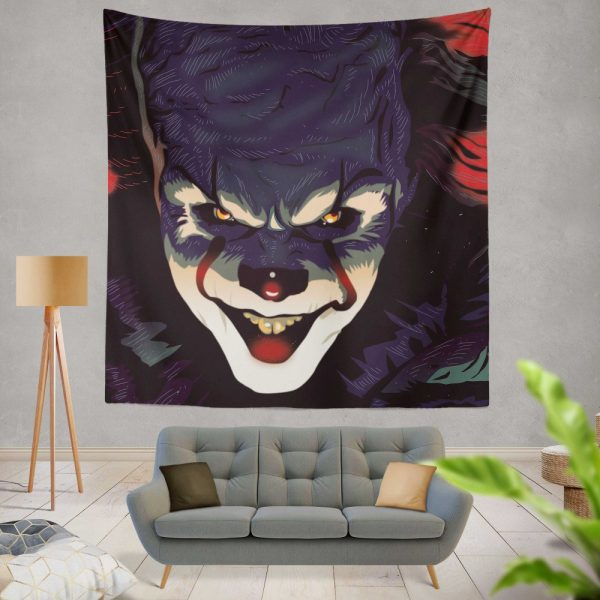 It 2017 Movie Wall Hanging Tapestry