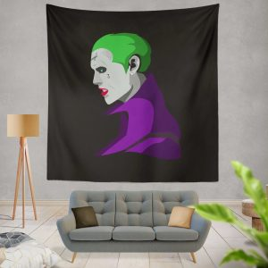 Jared Leto in Suicide Squad Movie Wall Hanging Tapestry
