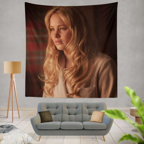Jennifer Lawrence X-Men First Class Movie Wall Hanging Tapestry