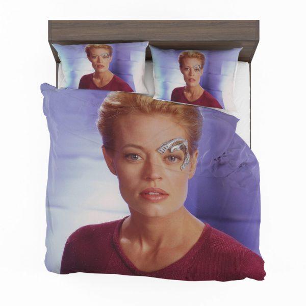 Jeri Ryan in Star Trek Voyager TV Show Bedding Set 2