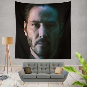John Wick Chapter 3 Movie Keanu Reeves Wall Hanging Tapestry