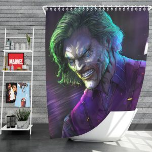 Joker Movie DC Comics Shower Curtain