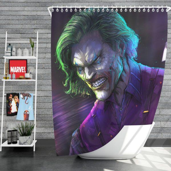 Joker Movie DC Comics Shower Curtain