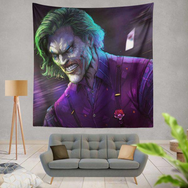 Joker Movie DC Comics Wall Hanging Tapestry