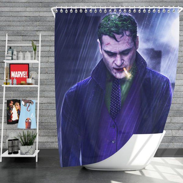 Joker Movie Joaquin Phoenix Shower Curtain