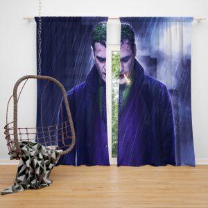 Joker Movie Joaquin Phoenix Window Curtain