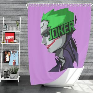 Joker Movie Shower Curtain
