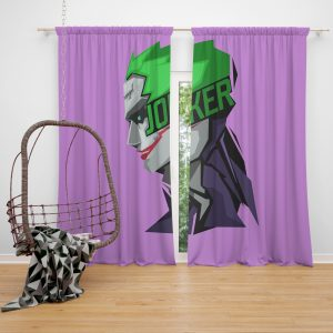 Joker Movie Window Curtain