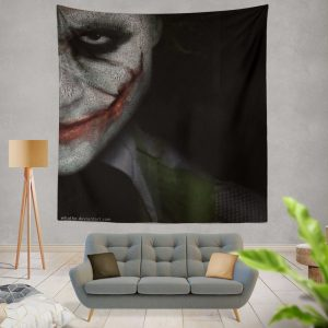 Joker in The Dark Knight Batman Movie Wall Hanging Tapestry