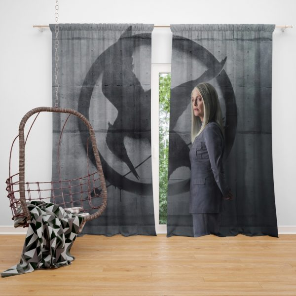 Julianne Moore in The Hunger Games Mockingjay Part 2 Movie Window Curtain