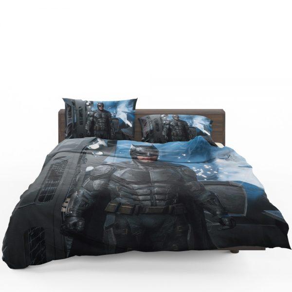 Justice League 2017 Movie Batman Ben Affleck Bruce Wayne Bedding Set 1