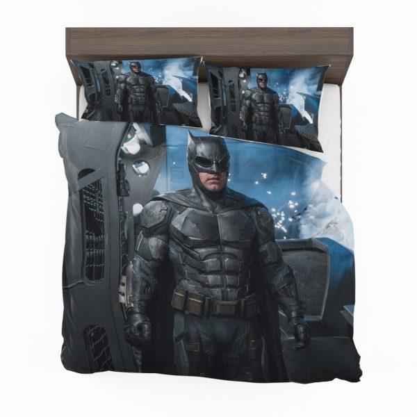 Justice League 2017 Movie Batman Ben Affleck Bruce Wayne Bedding Set 2