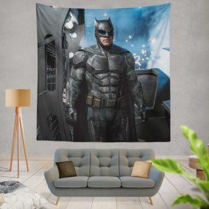 Justice League 2017 Movie Batman Ben Affleck Bruce Wayne Wall Hanging Tapestry