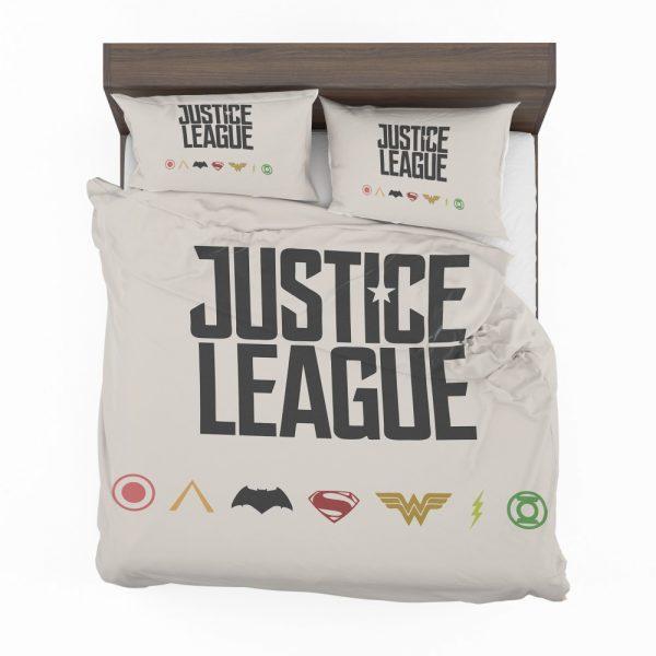 Justice League 2017 Movie DC Comics Logo Bedding Set 2
