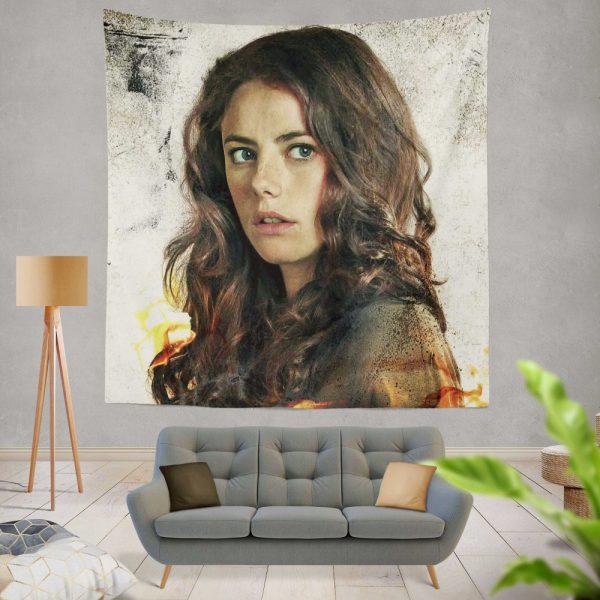 Kaya Scodelario in Maze Runner The Scorch Trials Movie Wall Hanging Tapestry