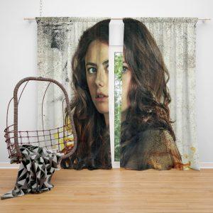 Kaya Scodelario in Maze Runner The Scorch Trials Movie Window Curtain