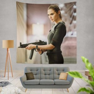 Keeping Up with the Joneses Movie Gal Gadot Wall Hanging Tapestry