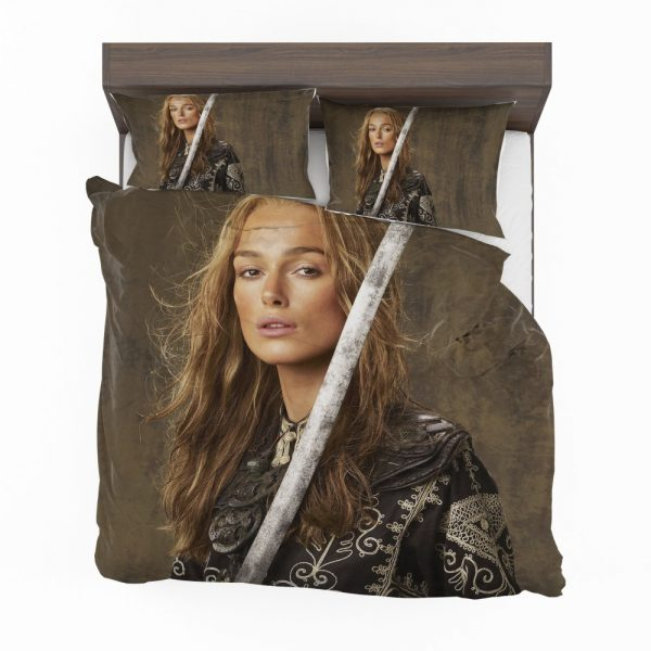 Keira Knightley Elizabeth Swann in Pirates Of The Caribbean At Worlds End Movie Bedding Set 2