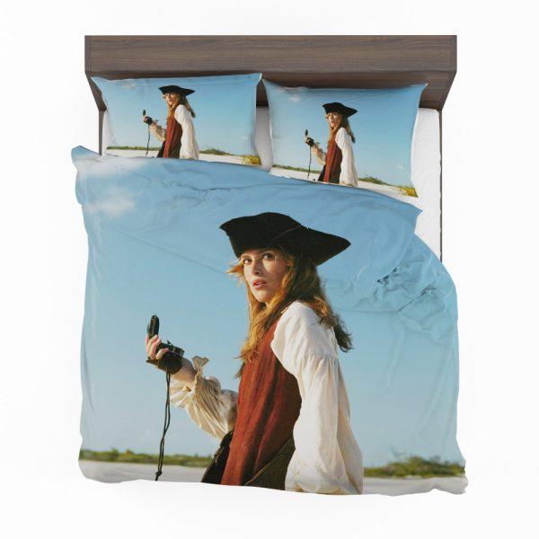 Keira Knightley Elizabeth Swann in Pirates Of The Caribbean Dead Man's Chest Bedding Set 2