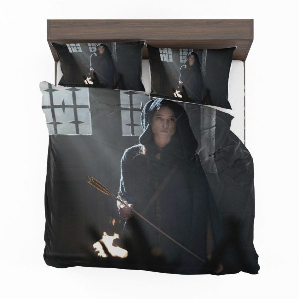 King Arthur Legend of the Sword Movie Astrid Bergès-Frisbey Bedding Set 2