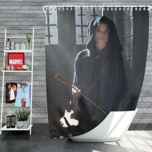 King Arthur Legend of the Sword Movie Astrid Bergès-Frisbey Shower Curtain